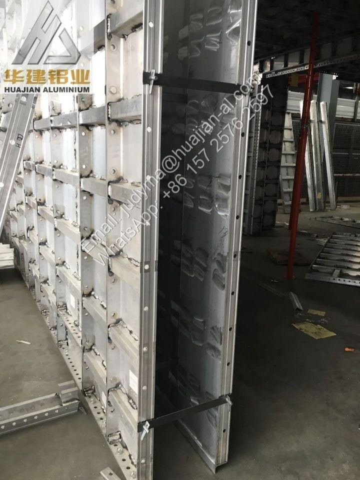 Alloy 6061 T6 Architectural aluminum shuttering industrial profiles for build house
