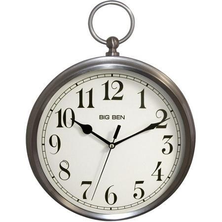 Westclox Bb Pocket Watch Wall Clock Walmart Com Clock Wall