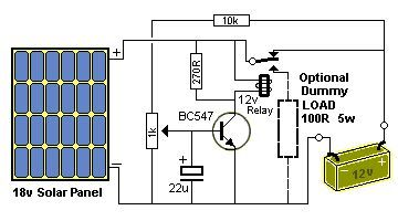 Regulator To Charge A 12v Battery Use A 16v Panel 25 28 Cells Consider Is The Wattage Of The Solar Panel Charger Solar Battery Charger Diy Solar Charger