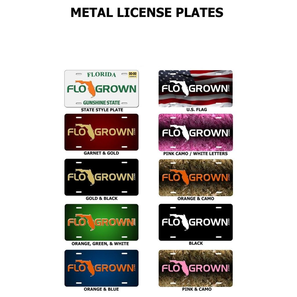 flogrown-license-plates I want the Classic FL license plate that\'s ...