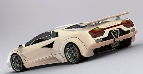 Ordinaire Eco Cars: Solar And Wind Powered Lamborghini Countach EV Offers A  Self Sufficient Ride