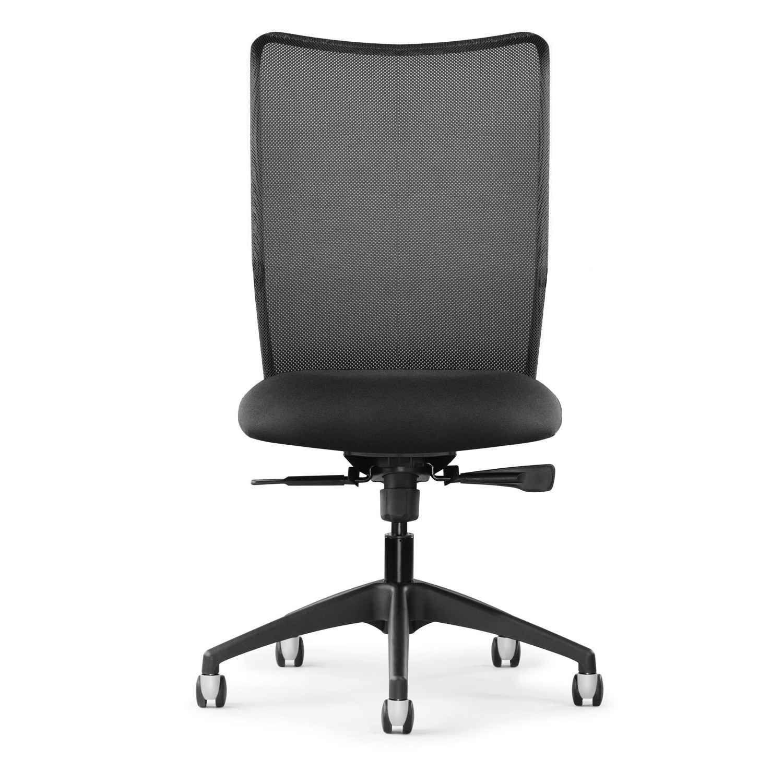 Inertia black mesh highback executive computer chair