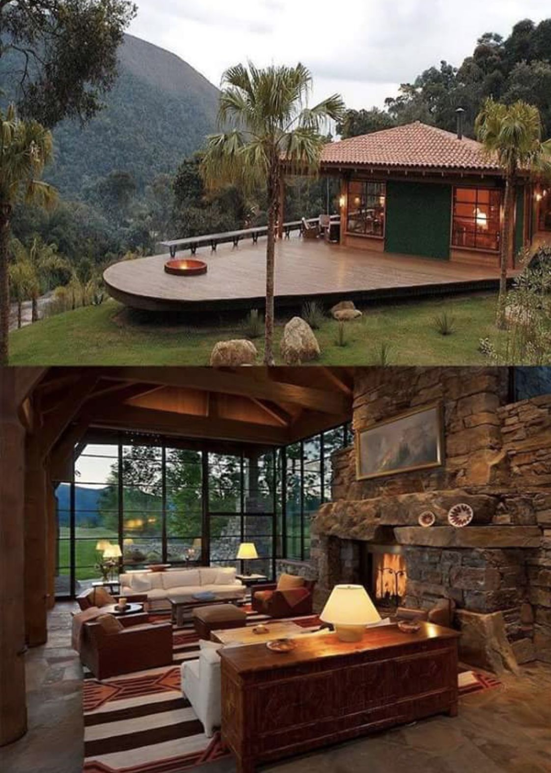 Cabanas en las montanas also best log cabin homes plans design ideas exterior  rh pinterest