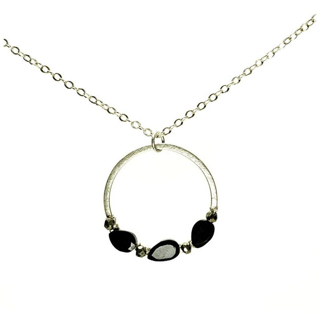 Halou nugget necklace in spinelpyrite products pinterest products