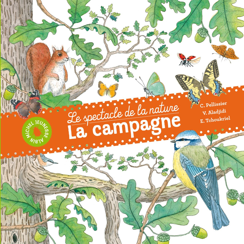 LE SPECTACLE DE LA NATURE: La campagne (Albin Michel Jeunesse)