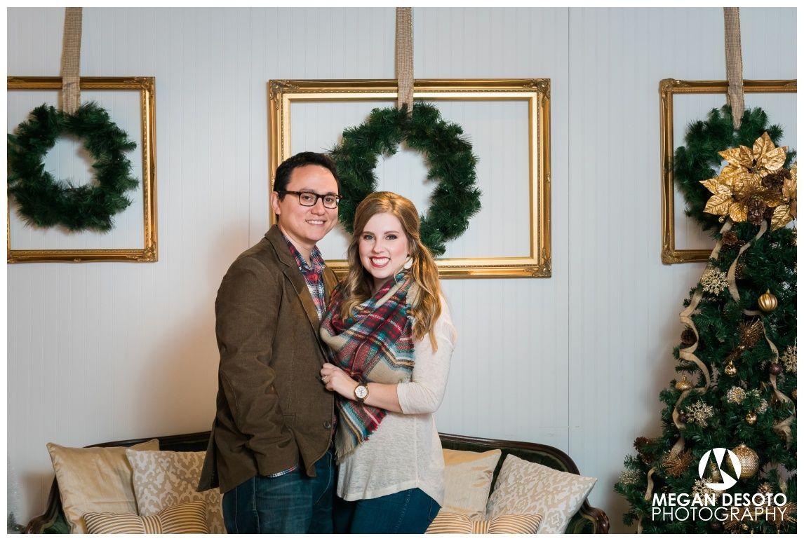 Elegant Couple Holiday Portrait Ideas