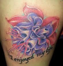 Fuschia Tattoo Meaning Google Search