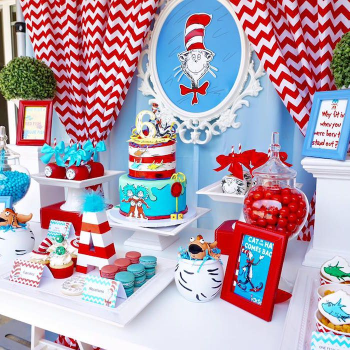 dr seuss birthday party Dr. Seuss Birthday Party | Birthday Party Ideas | Birthday, Dr  dr seuss birthday party