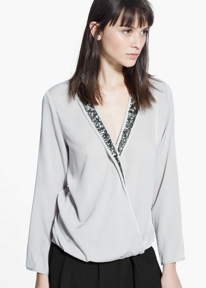 3bfd8f891d Sequin detail blouse