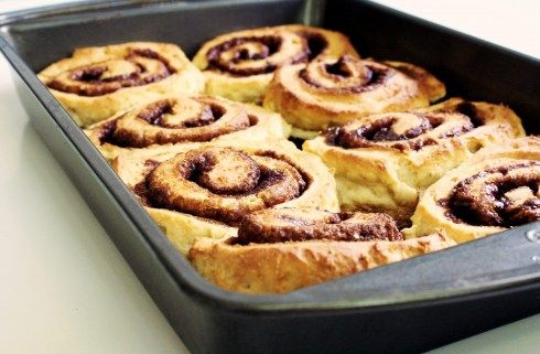 GF Cinnabon: weekend baking challenge
