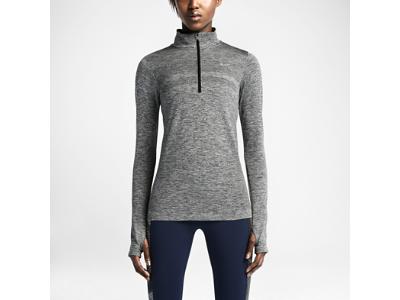 Nike Dri-FIT Knit Half-Zip Women s Running Shirt  ad202b5a6