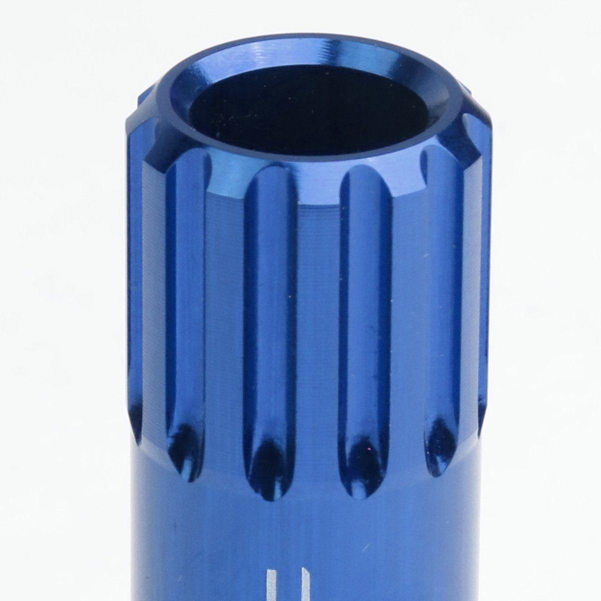 Open End Design 16piece M12 X 1 5 Anodized Aluminum Alloy Wheel