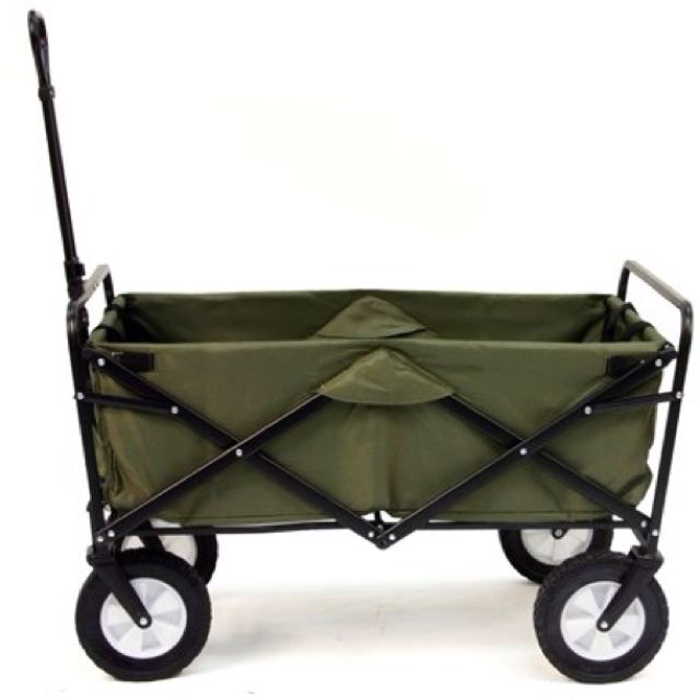 superior Folding Garden Wagon Costco Part - 4: Folding wagon... at Costco for $58..I need this for the store!