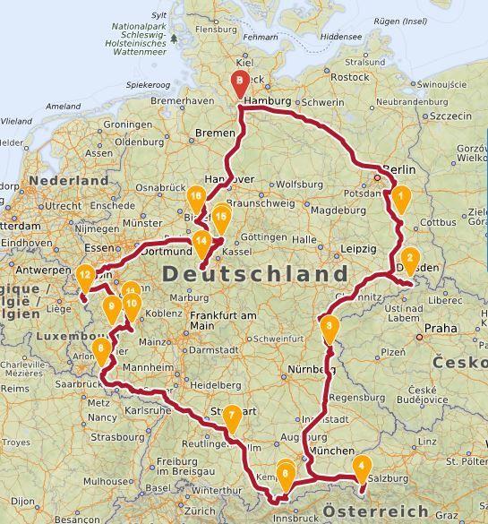 Roadtrip mit Hund durch Deutschland