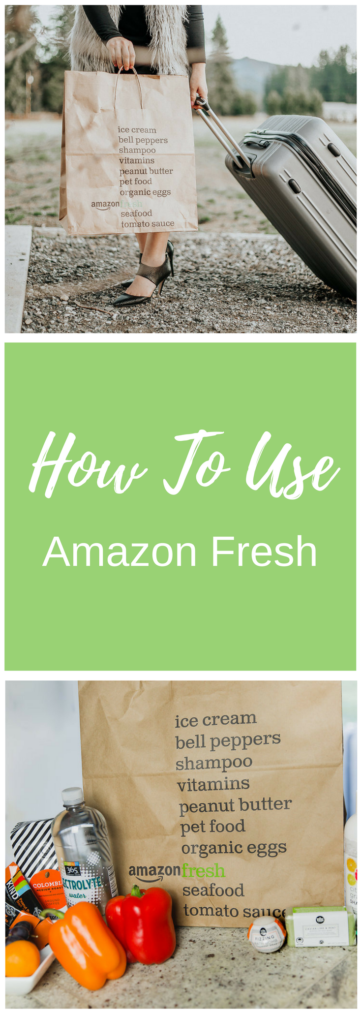 How To Use AmazonFresh For a Girls' Weekend in Seattle