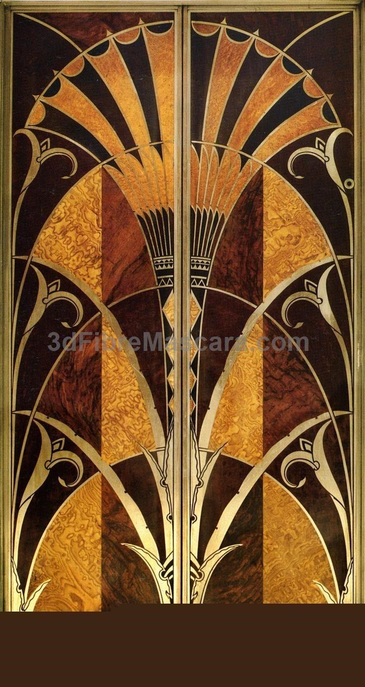 Art Deco Elevator Door The Chrysler Building NYC artdeco
