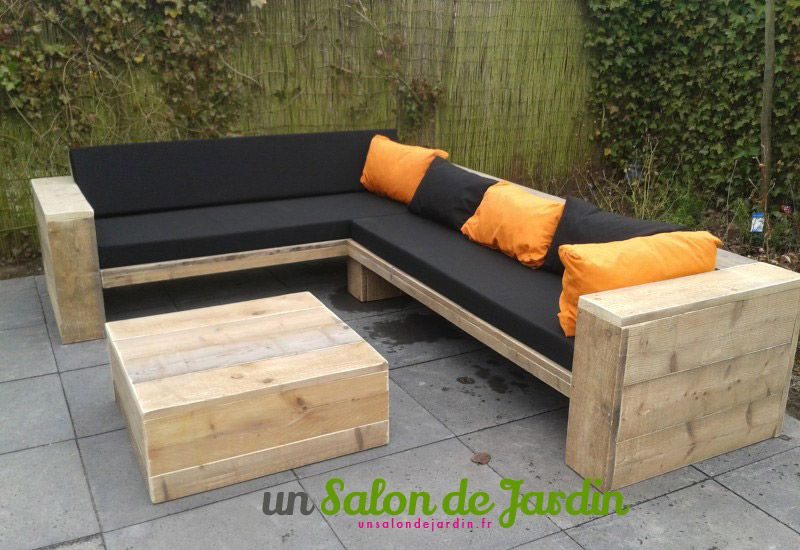 salon de jardin en palette a faire soi meme. Black Bedroom Furniture Sets. Home Design Ideas
