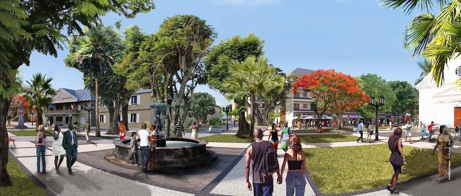 Un nouveau centre-ville à Sainte-Suzanne-5 ans de travaux prévus