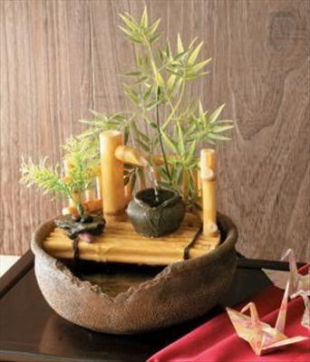 New Japanese Ryo Cool Fountain Miniature For Room Entrance Indoor Garden H9 25 Tabletop Fountain Diy Fountain Fountains