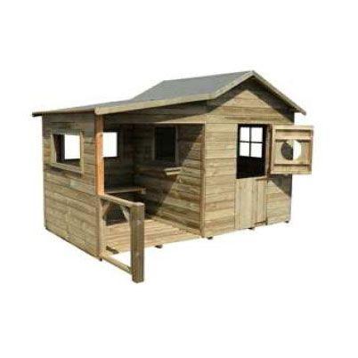 maisonette en bois hacienda casto cabanes pinterest more haciendas ideas. Black Bedroom Furniture Sets. Home Design Ideas