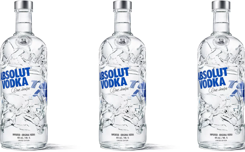 Ardagh Group Creates Absolut Vodka Bottle From Recycled Glass Vodka Absolut Vodka Packaging