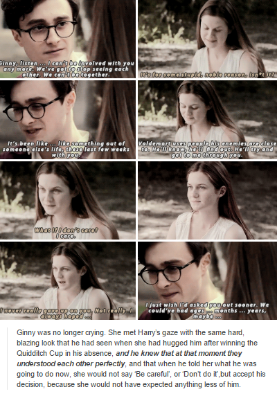 harry and ginny relationship