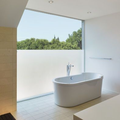 Delicieux Opaque Window Film Adds The Privacy Without Eliminating The View