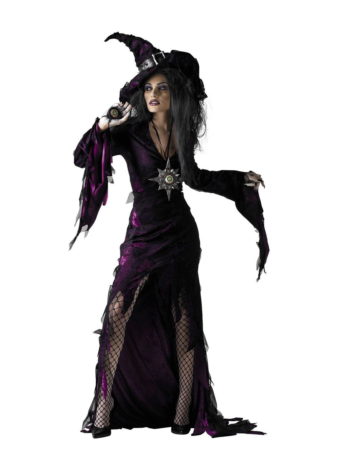 Sorceress Costume for Adult. Halloween Witch ...  sc 1 st  Pinterest & Sorceress Costume for Adult | Witch costumes