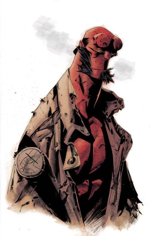 Hellboy by Max Fiumara