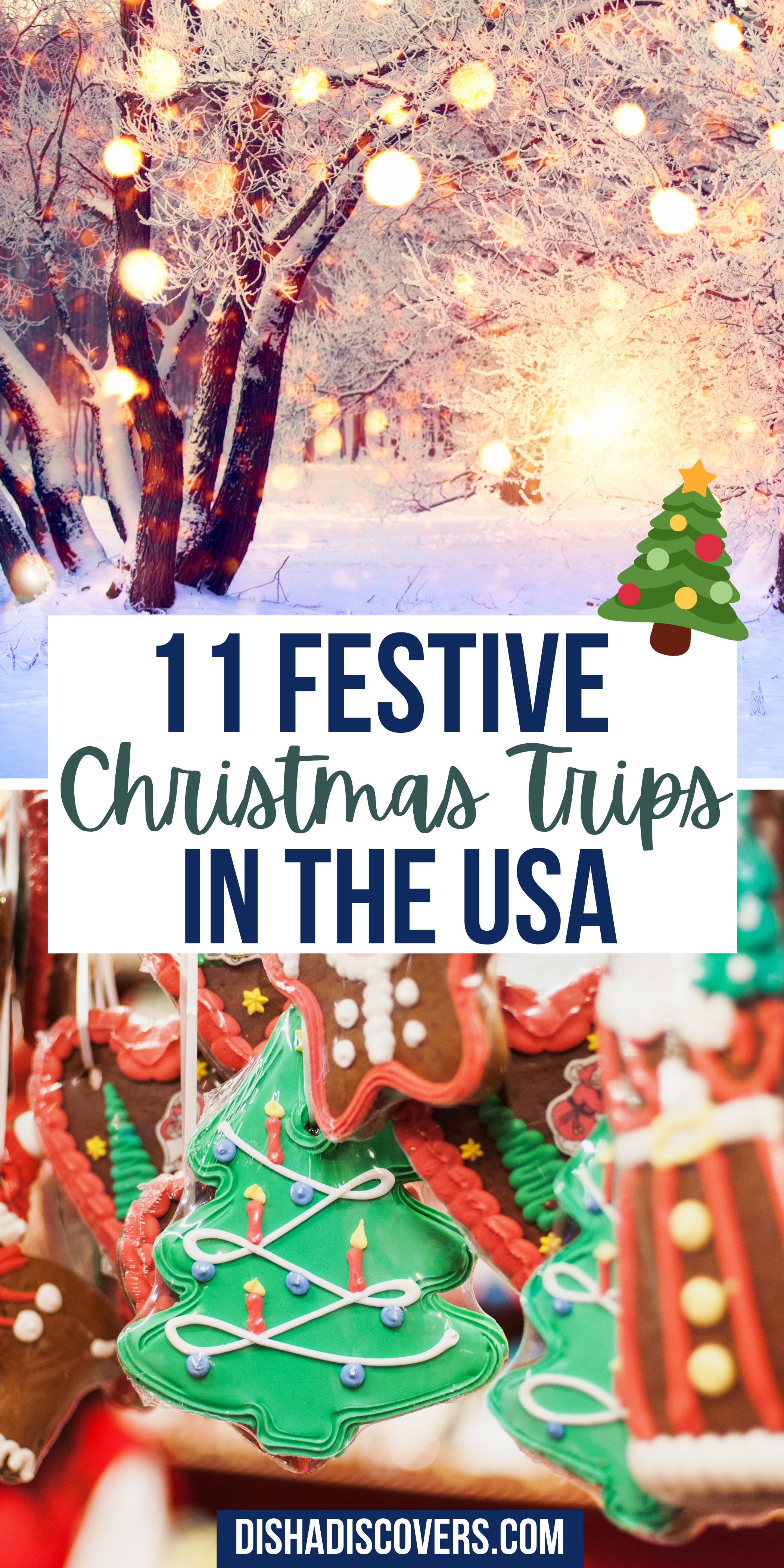 Usa Christmas Destinations 11 Of The Best Holiday Getaways In America In 2020 Christmas Travel Christmas Destinations Christmas Vacation Destinations