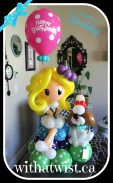 With a Twist Balloon Creations Girl with Dog in 2019