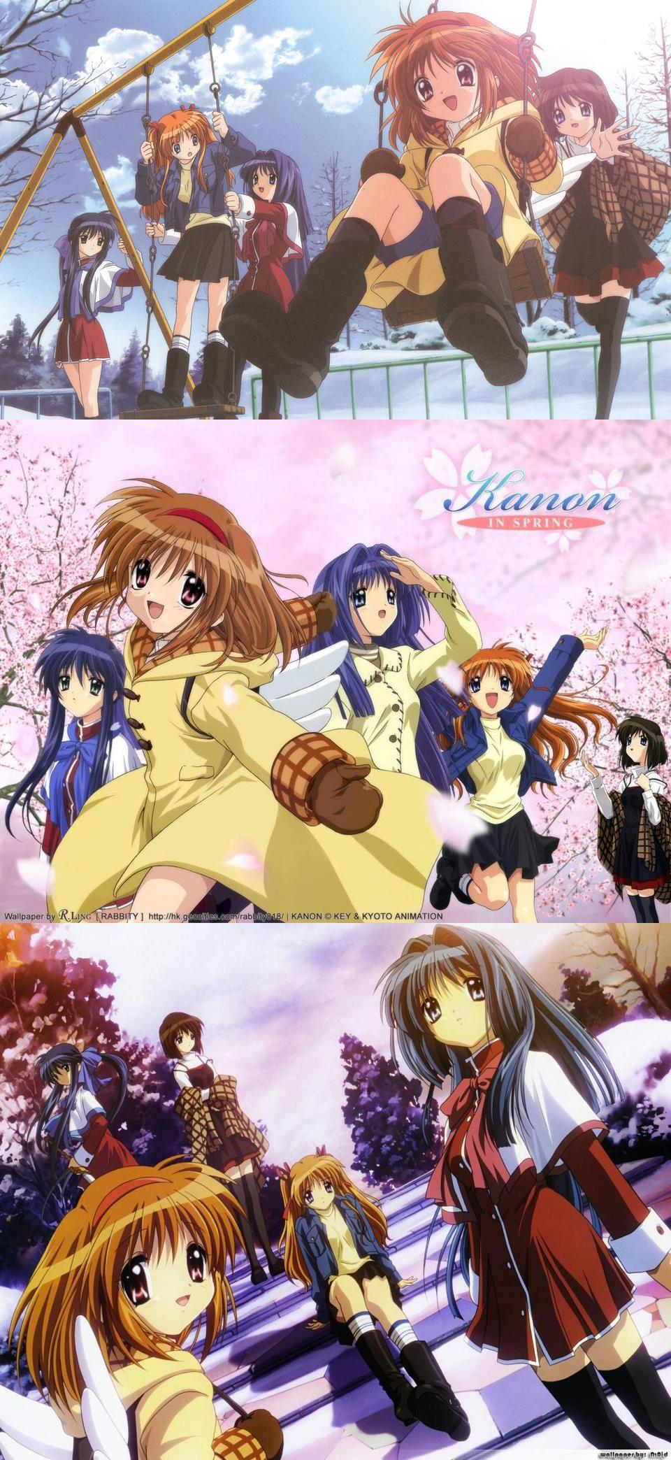 kanon 2006 Anime, Anime shows, Anime artwork