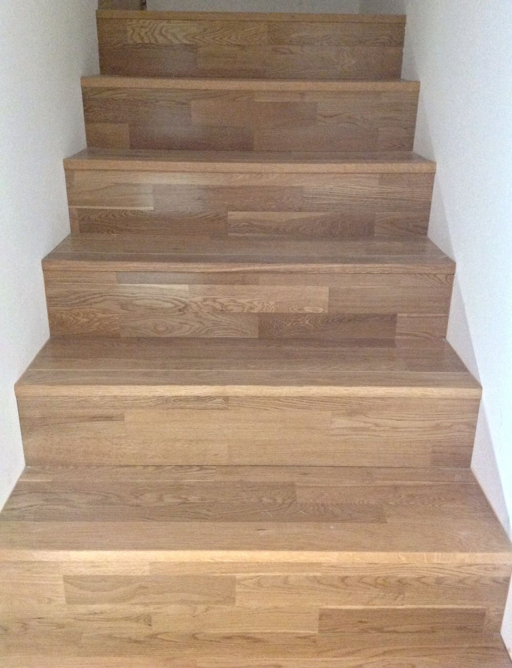 Best Pre Finished Hardwood Stair Installation Hardwood Stairs 400 x 300