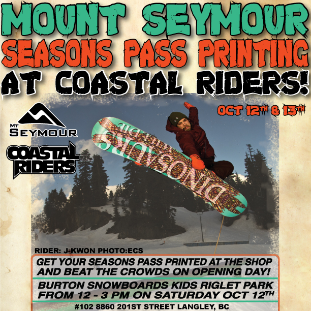 Beat the crowds and get your seasons pass printed this weekend!