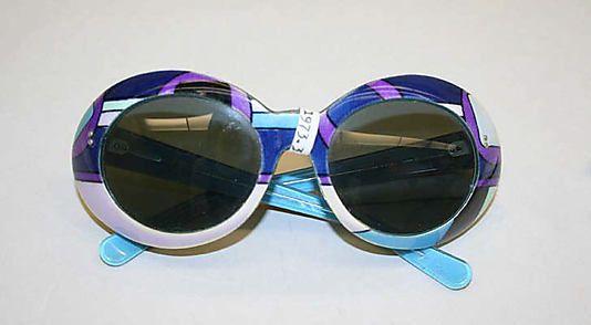 Pucci sunglasses, c.1965
