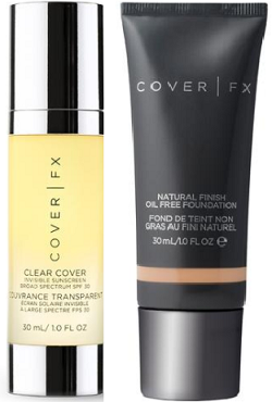 d822e9dc8c92 What I Bought in March  Cover FX Natural Finish Foundation with free gift  Clear Cover Invisible Sunscreen