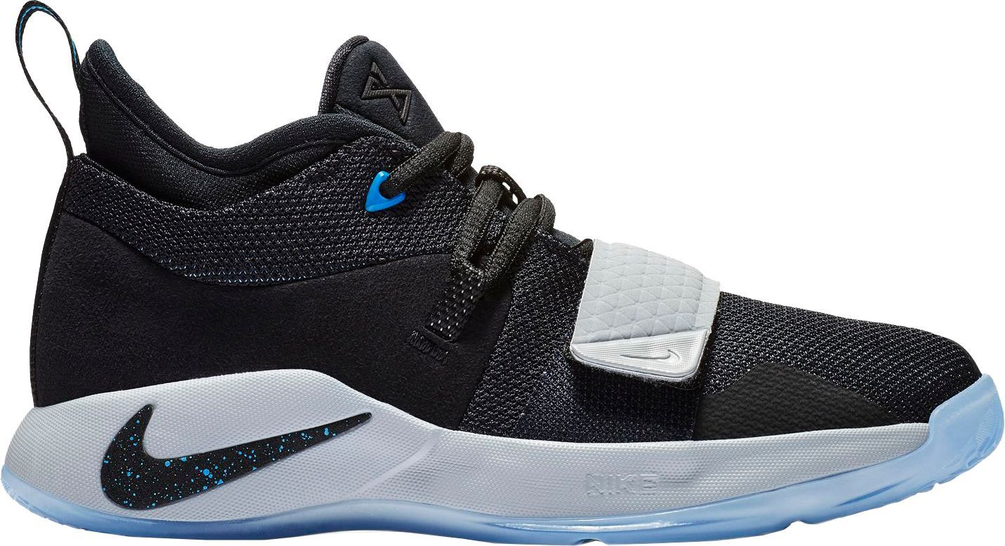 new styles 44ca7 bdc65 Nike Kids  Grade School PG 2.5 Basketball Shoes, Size  7.0, Black