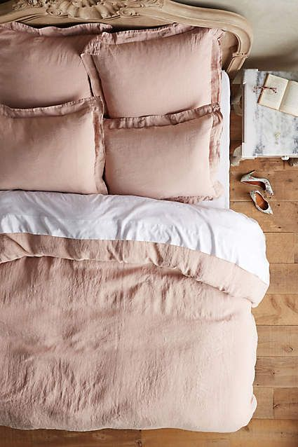 Soft Washed Linen Duvet Cover King Pillows Linen Duvet