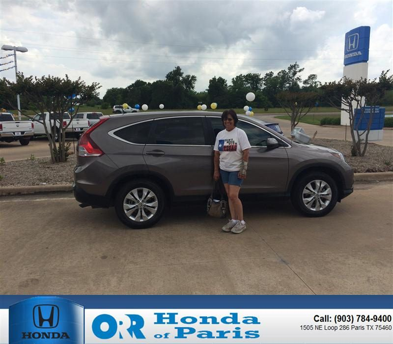 "https://flic.kr/p/sTjEzU | Congratulations to Brenda Mayfield on your #Honda #Cr-V from John Brewer at Orr Honda of Paris! #NewCar | <a href=""http://www.hondaofparis.com/?utm_source=Flickr&utm_medium=DMaxxPhoto&utm_campaign=DeliveryMaxx"" rel=""nofollow"">www.hondaofparis.com/?utm_source=Flickr&utm_medium=DM...</a>"