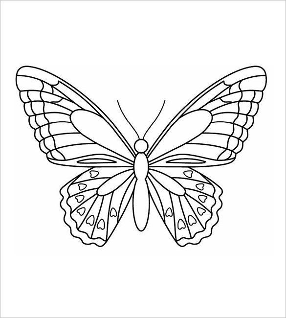 Butterflly symmetry upper grades March Balance