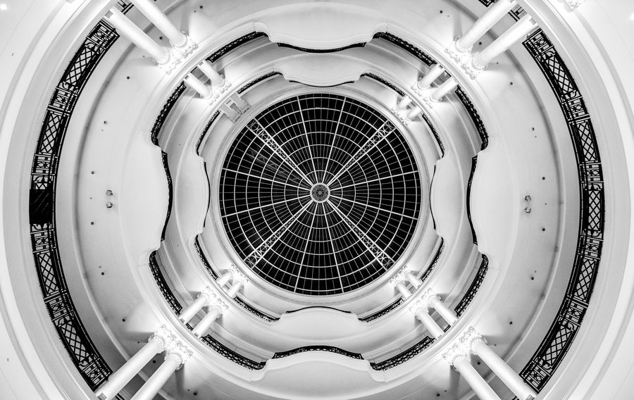 "500px / Photo ""Dome"" by James Rossiter Of London department store"
