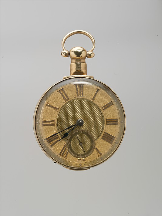 Watchmaker: W. Mitchell Date: early 19th century Culture ...