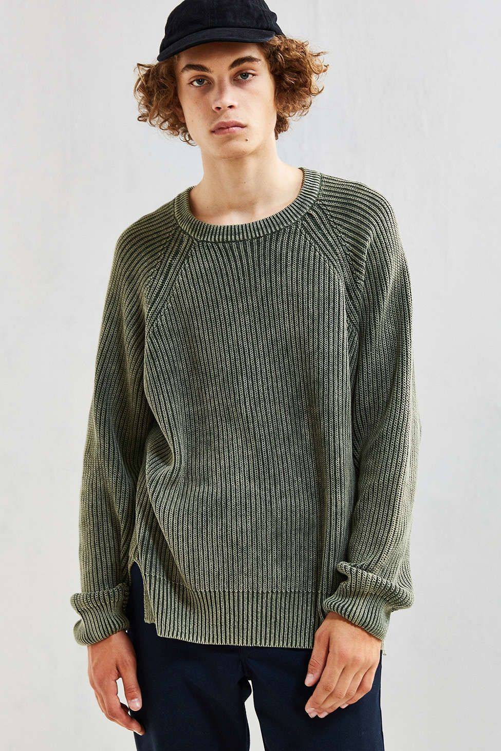 UO Modern Washed Crew Neck Sweater , Urban Outfitters