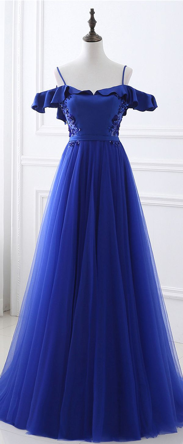 In stock stunning tulle u satin spaghetti straps neckline backless a