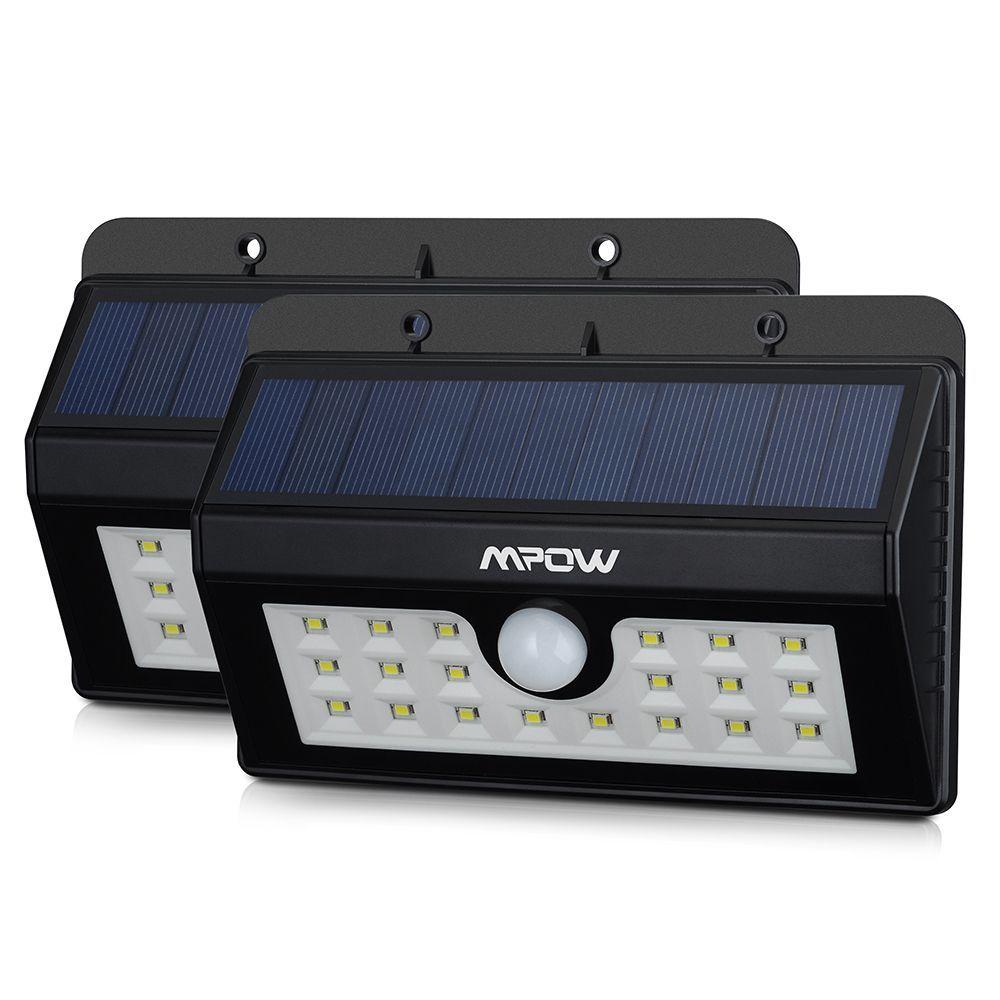 Mpow Solar Power Wireless Security Motion Sensor Light with