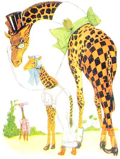 Public Domain Vintage Childrens Book Illustration Animal Children Giraffe Free Vintage Illustrations Animal Illustration Kids Children S Book Illustration Children Illustration