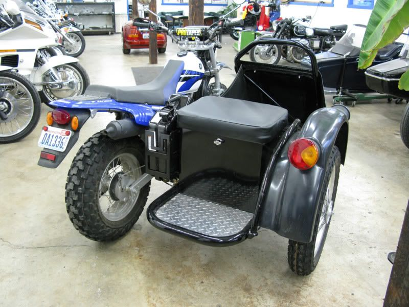 Yamaha TW200 with off-road sidecar | Motorcycles & Scooters | Yamaha