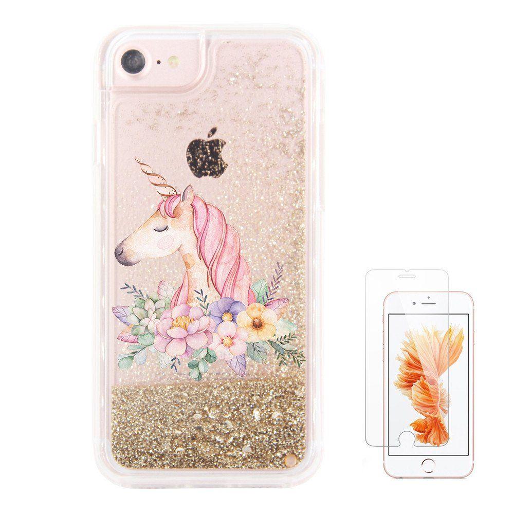 Unicorn Cartoon Clear Case Iphone
