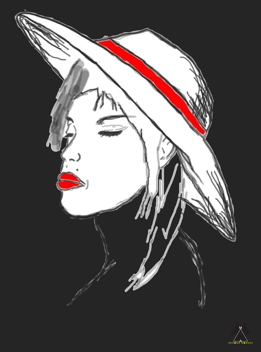 Red Strip Red Lip Red Lips Fictional Characters Lips