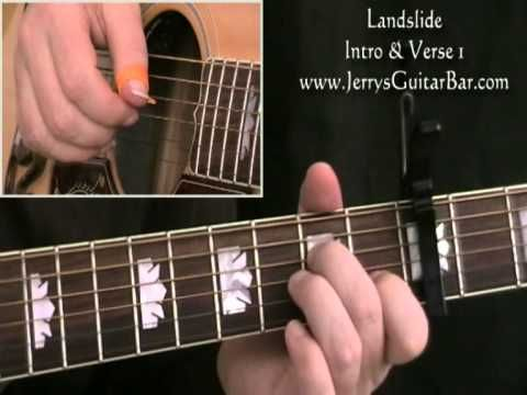 How To Play Fleetwood Mac Landslide Intro And Verse 1 Youtube